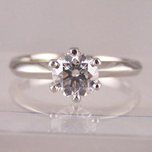claw set diamond engagement rings