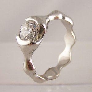 end set diamond engagement rings