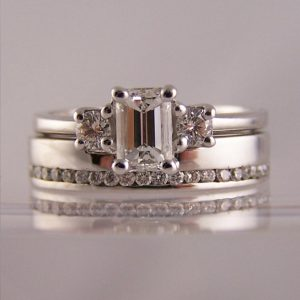 To Fit Emerald Cut Engagement Rings