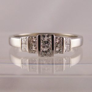 Art Deco Style Engagement Rings