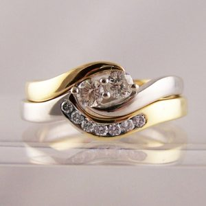 To Fit Round Cut Diamond Engagement Rings