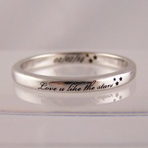 song lyric rings