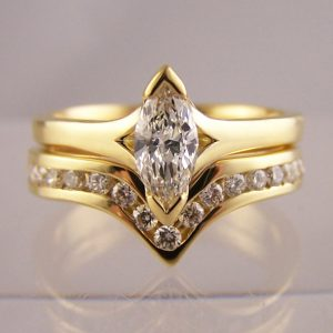 Shaped, Fitted Wedding Bands