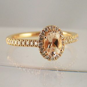 Morganite & Other Peach & Champagne Coloured Gemstones