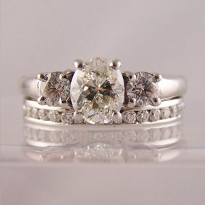 To Fit Oval Cut Engagement Rings