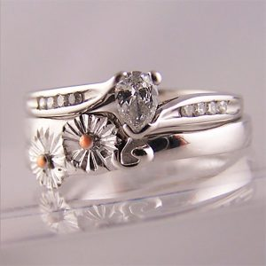 To Fit Pear Cut Engagement Rings