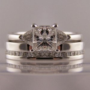 To Fit Princess Cut Engagement Rings