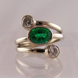 Unusual Bespoke Dress Rings