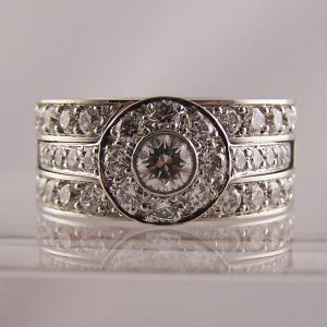 Slot-To-Fit Wedding Rings