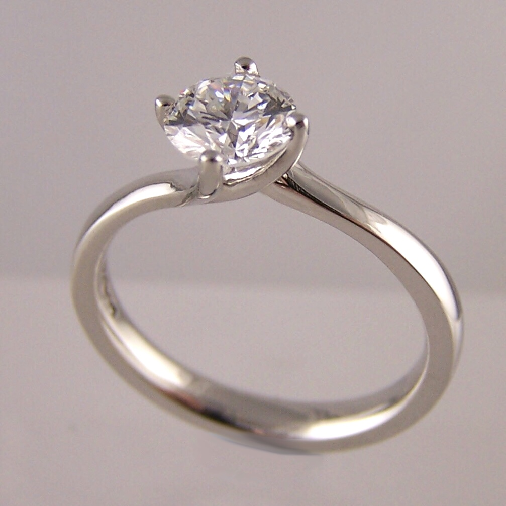 This photo shows a laboratory grown diamond ring